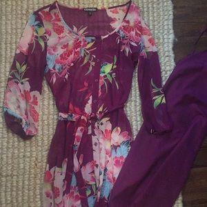 Express Floral Dress